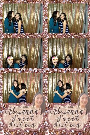 Abrianna's Sweet 16