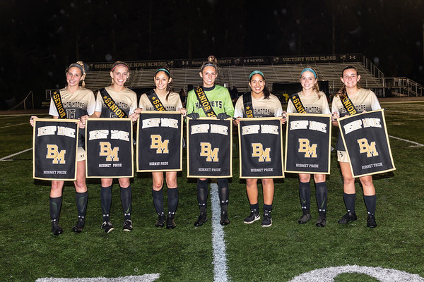 20200123 BMC Girls Soccer Senior Night