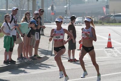 Women at 13 mile mark