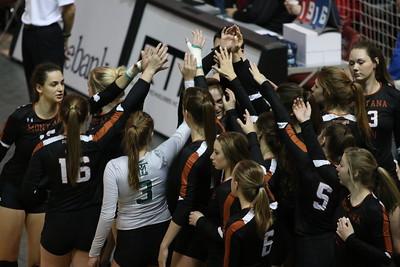 2017 Montana Tech Volleyball vs Missouri Baptist - Final 16  National Championship