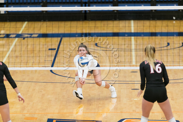 Wheaton College Volleyball vs Edgewood College, September 4, 2018