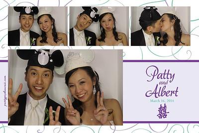 Patty & Albert's Wedding (Luxury Photo Booth)