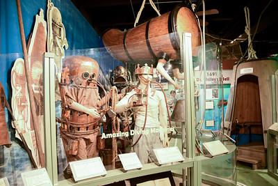 History of Dive Museum, Islamorada, FL - Nov. 2018