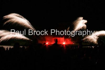 MLE fireworks at combermere