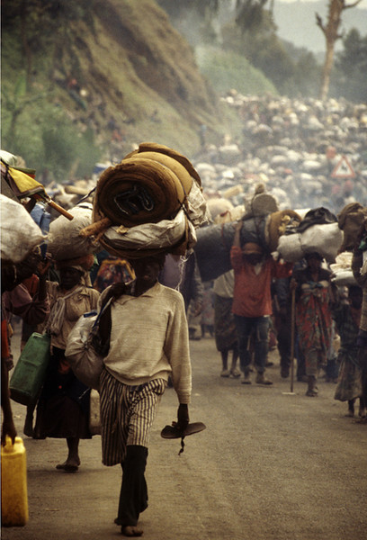 Rwanda, The Exodus, November 1996