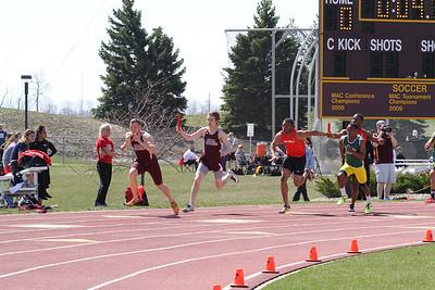 400 Meter Relay - 2013 CMU Lyle Bennett Open