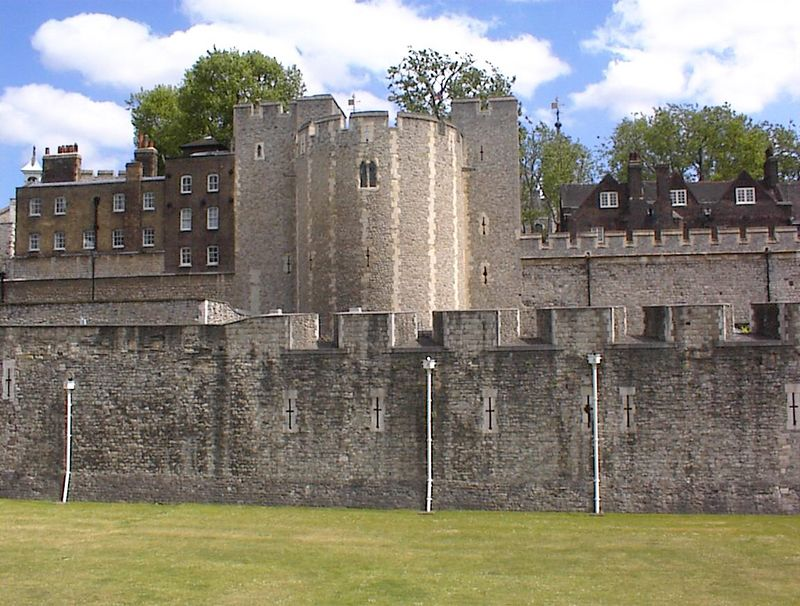 The Tower of London from the outside