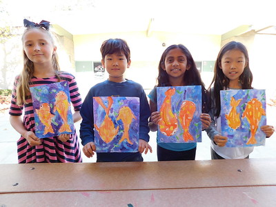 LCE 3rd-Graders Mark the Lunar New Year