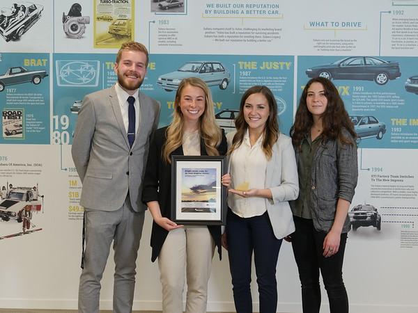 2019 Effie Collegiate Subaru Brand Challenge
