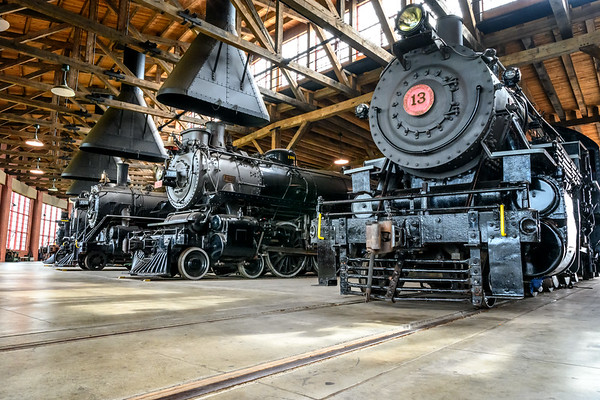 Age of Steam Roundhouse Tour