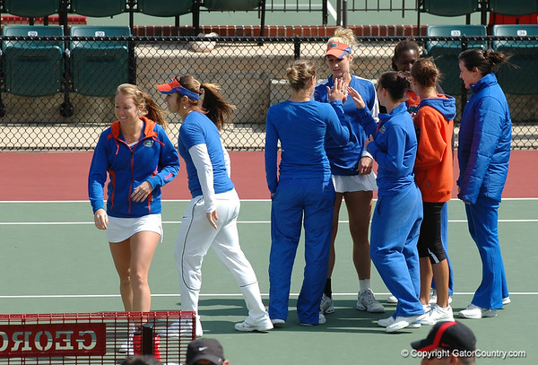 Photo Gallery: UF Women's Tennis vs. Georgia Bulldogs 3/4/2012