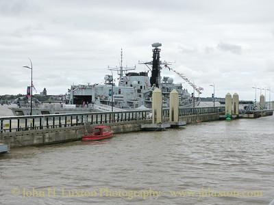 HMS Iron Duke at Liverpool - June 24, 2017