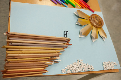 Rolled Paper Sculptures