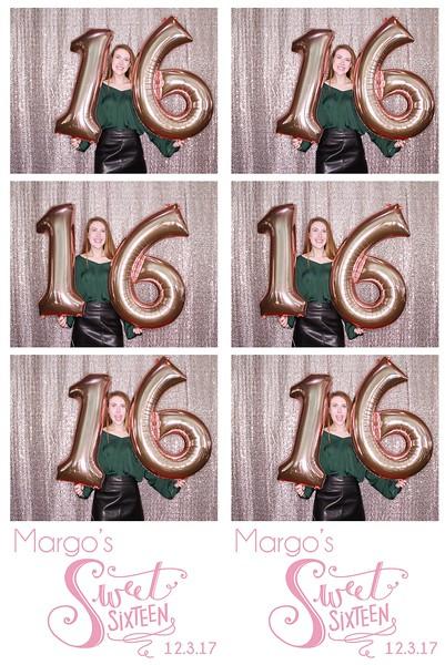 "Margo's ""Sweet Sixteen"""