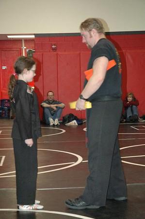 Rowan Gets Her Orange Belt