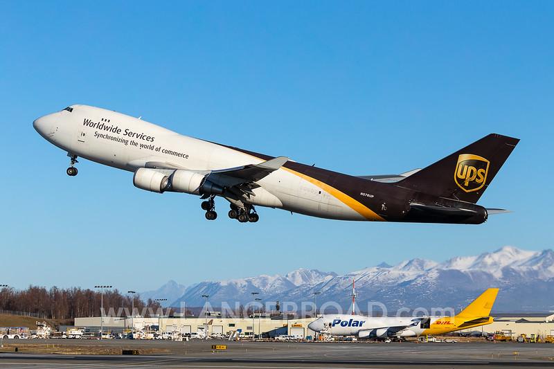 UPS 747-400F - N276UP - ANC