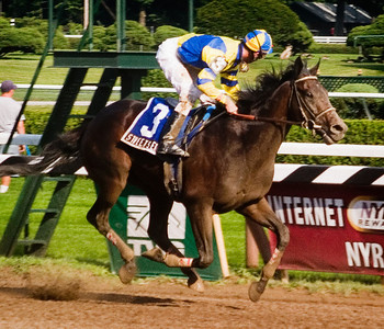 Saratoga 7/29/07 - Calvin Borel, Street Sense, and the Jim Dandy