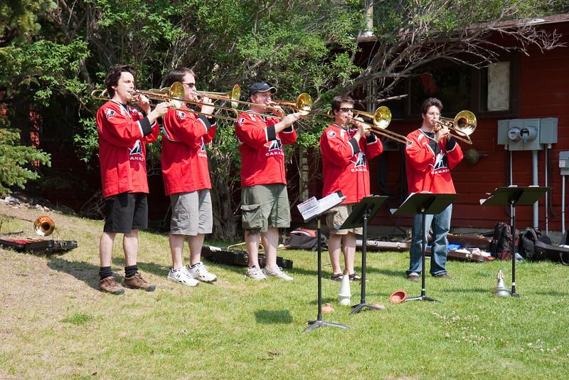 Five Trombones