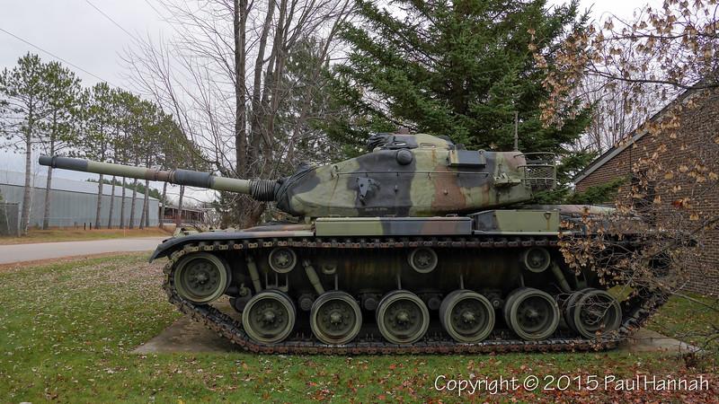 WIANG - Rhinelander, WI - M60A3