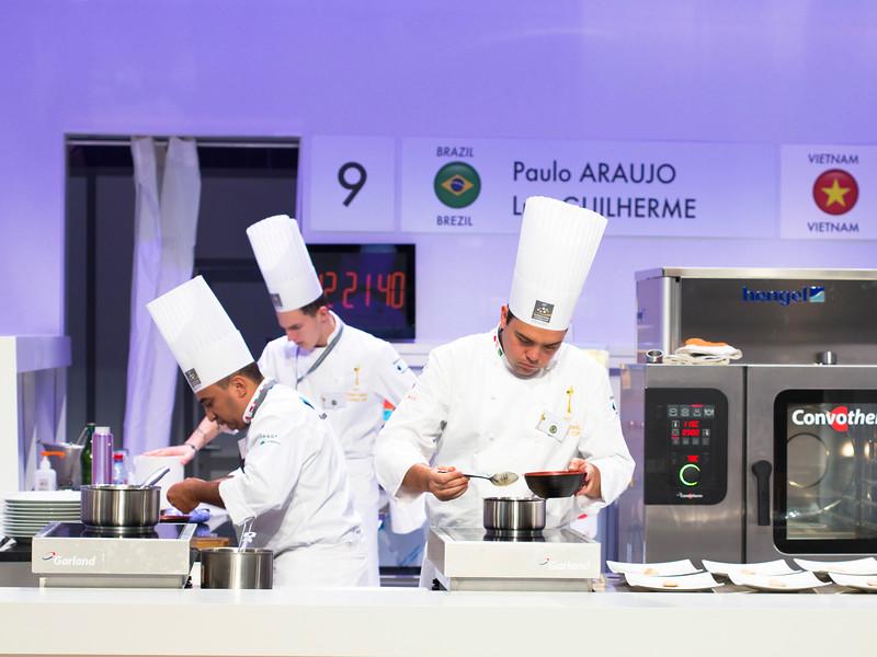 L'équipe du Brésil  composée de Paulo ARAUJO et Luiz GUILHERME à l'oeuvre