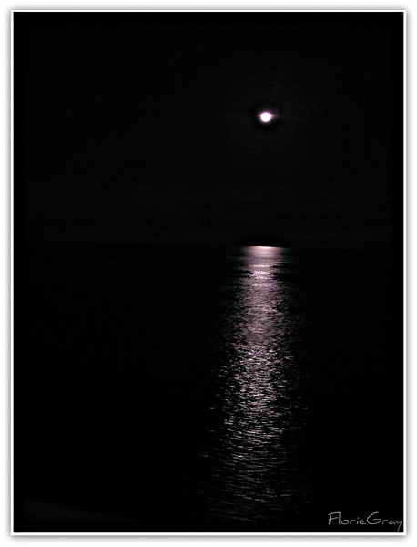 Full Moon, North Atlantic