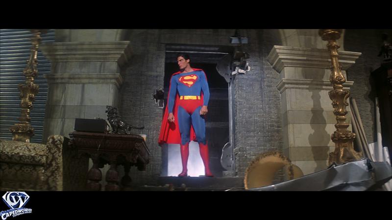 Superman Confronts Lex Luthor