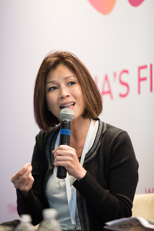 Ex-celebrity, Wong Lilin, Singapore speaking at 2017 CHOMUM conference