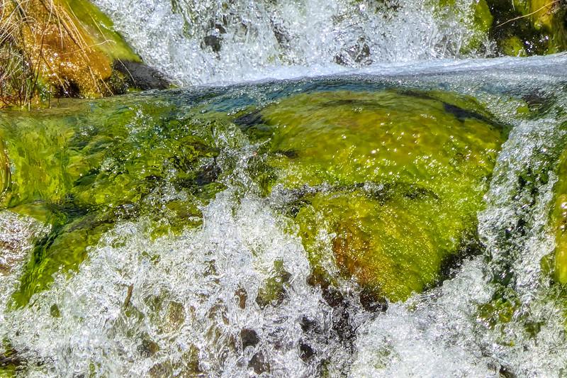 Gushing fresh water