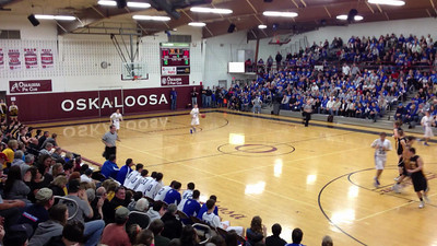 Boys Basketball, Sigourney vs Danville, Class 1A Substate 5 at Oskaloosa 2/23/2013