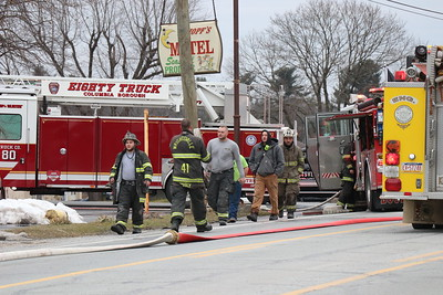 Structure Fire - Lincoln Highway - February 17, 2019
