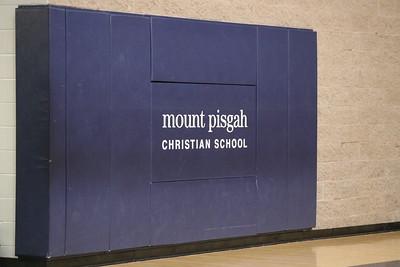 Mt. Pisgah Christian School Championship proclamation with Comm. Hausmann
