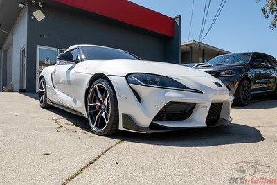 Toyota Supra - Front End PPF