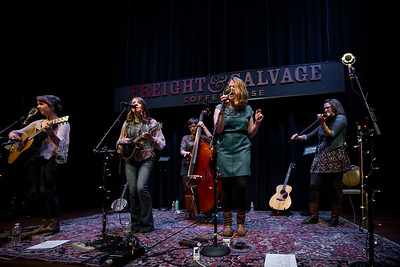 Della Mae live at the Freight and Salvage December 5,2015