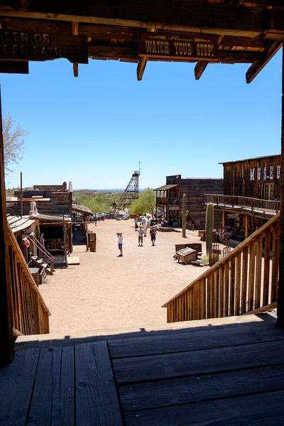 Goldfield Ghost Town, Apache Junction, AZ - 10 May 2016