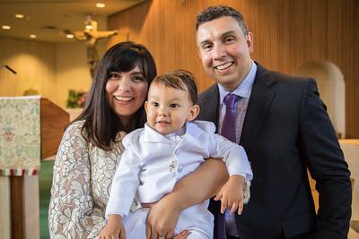 Valentino Baptism