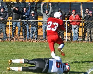 Tewksbury High School football - November 16, 2019