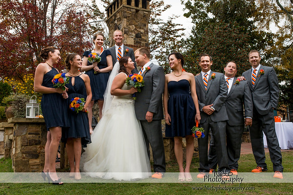 Michelle & Carl - October 31 2014 - Chapel Hill Wedding