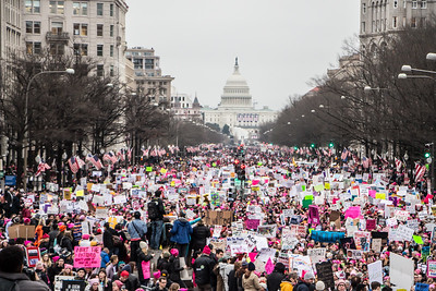 Women's March on Washington January 2017