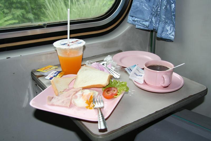 Train ride to Chiang Mai - July 2006