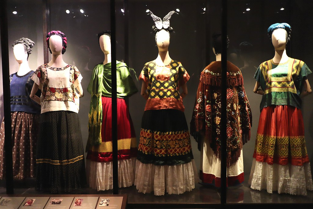 Frida Kahlo dresses