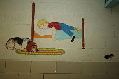Merle Sturm's Murals - St. Mary's