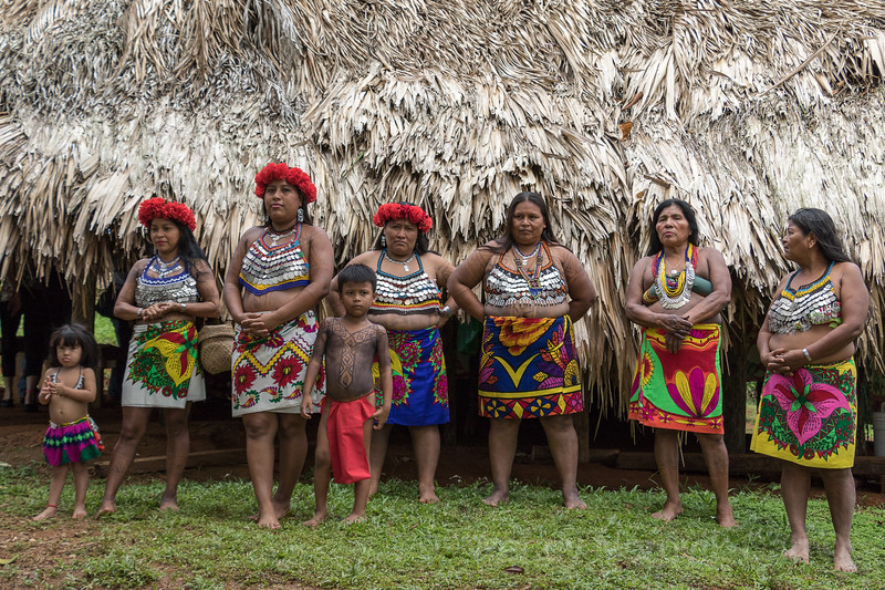 Visit an authentic Panama Embera tribe