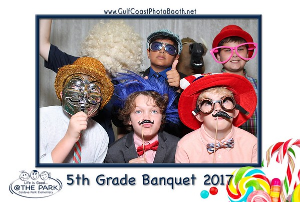 Cordova Park Elem 5th Grade Banquet 2017 Photo Booth