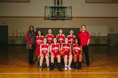 MS Girls JV Basketball