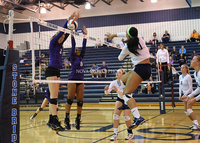 Volleyball: Potomac Falls vs. Stone Bridge 10.8.15