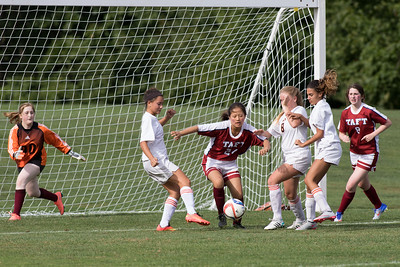 9/21/16: Girls' Thirds Soccer v Suffield Academy