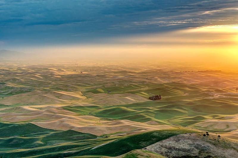 Sunrise from Steptoe Butte