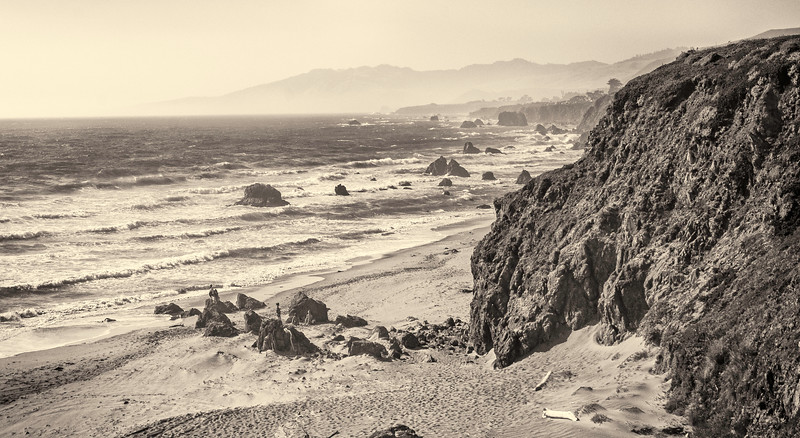 Bodega Bay on a Windy Day.