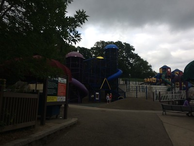Chutes and ladders park in Blomington minnesotta