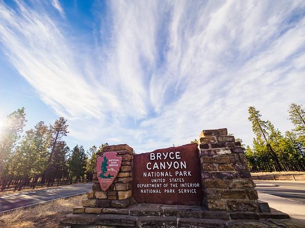 Bryce Canyon, November 2017